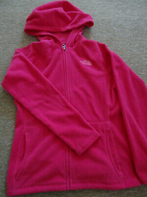 The North Face girls Glacier full zip H fleece jacket Age 10-12 years NEW+TAGS