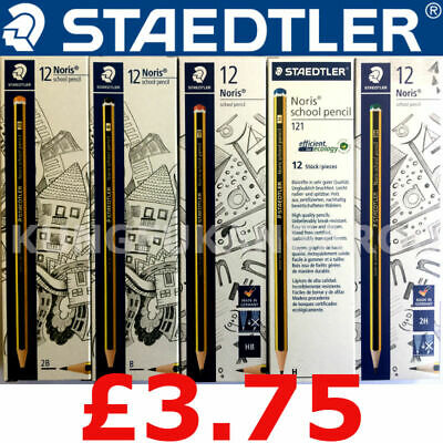 Staedtler Noris Pencils 2B B Hb H 2H Drawing Joinery Art School Sketching Design