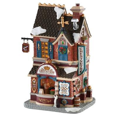 Lemax Christmas Village Chesnut King #85384 Lighted Building House Decoration