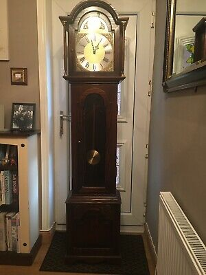 Jaycee Furniture Longcase Hall Clock Spares Or Repair