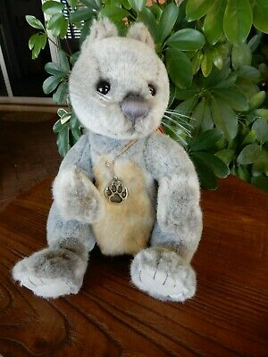 Charlie Bears Dray - 2016 Secret Collection plush squirrel 26cm