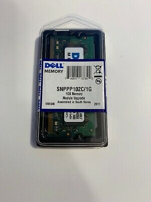 Dell Sealed Certified Memory SNPPP102C//1G Latitude Inspiron Precision Studio XPS