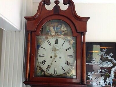 1895 Grandfather clock