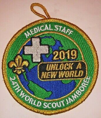 Medical Staff IST Delegate Badge 2019 24th World Scout Jamboree Mondial Official