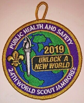 Public Health & Safety IST Staff Delegate Badge 2019 24th World Scout Jamboree