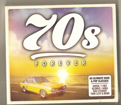 70s Forever (CD, 2019, 3-Discs, Various Artists) (CD) Brand New & Sealed