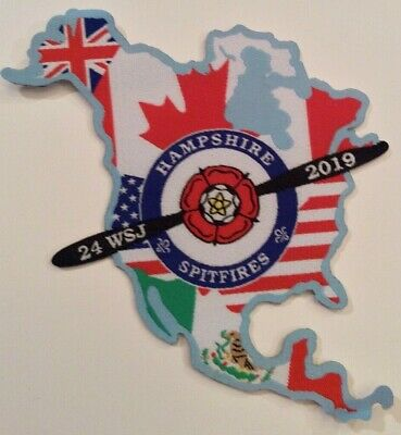 Unit 54, Hampshire Spitfires UK Badge 2019 24th World Boy Scout Jamboree MINT