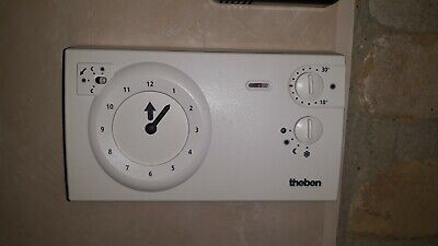 THERMOSTAT d'ambiance THEBEN RAM 722 (24 volts) KLOKTHERMOSTAAT