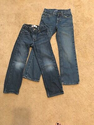 Lot Of Two Pairs Boys 7 Jeans