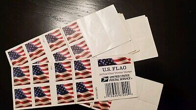 $8.99!! Free Shipping! 20 2017 US Flag Forever Stamps
