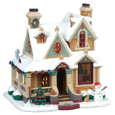 Lemax Christmas Village Wilson Residence #85330 Lighted Building House Decor