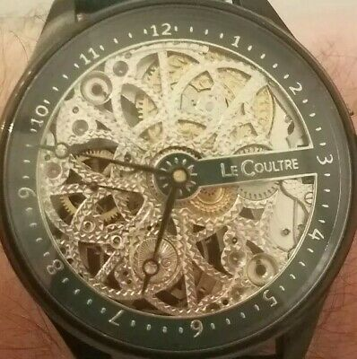 Exquisite Le Coultre mens Marriage watch. Converted vintage pocket watch