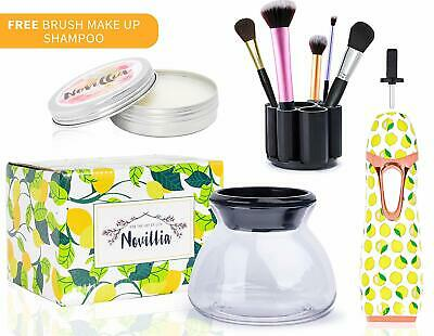 Electronic Makeup Brush Cleaner Spinner & Powder Cleaning Fast Spin Dry & Rinse
