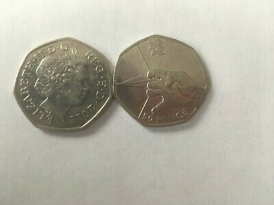 Olympics 2012 - 50p fifty pence coin - Olympic ARCHERY dated 2011
