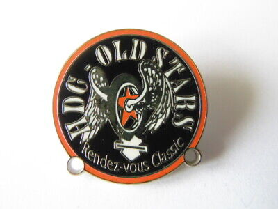 Harley-Davidson Pins Badge Collector Hdg Old Stars