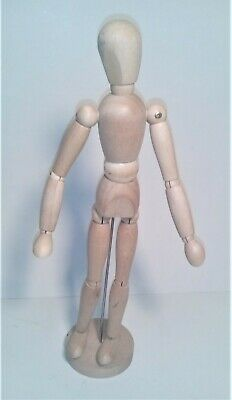 artist motion action figure, all wood jointed