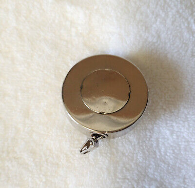 Vintage retractable key ring holer - Made in USA