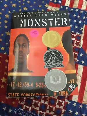 Monster by Walter Dean Myers (2008, Paperback)