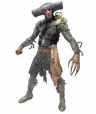 "Disney Movies Pirates of the Caribean  Maccus 6"" monster figure toy RARE"