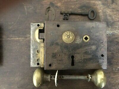 Original Antique NO.60 Jas Carpenter Door Rim lock