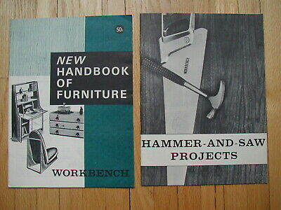 1964-65 Workbench Magazine's New Handbook of Furniture & Hammer and Saw Projects