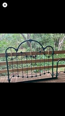 Cast Iron And Brass Bed Queen Size