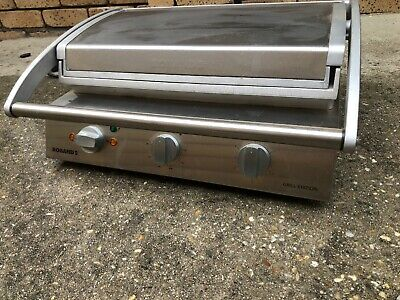 ROBAND MODEL: GSA810S COMMERCIAL GRILL STATION SANDWICH PRESS 15amp