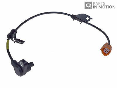 ABS Sensor fits HONDA ACCORD CH7 2.0 Rear Right 99 to 02 F20B6 Wheel Speed ADL