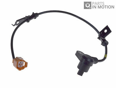 ABS Sensor fits HONDA ACCORD CH6 1.8 Rear Left 99 to 02 F18B2 Wheel Speed ADL