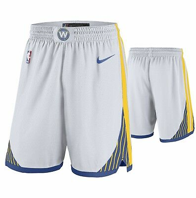 ** Golden State Warriors Short Nba Original Nike Basketball Dri Fit Size 34