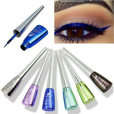 6 Colors Waterproof Shimmer Eyeshadow Glitter Liquid Eyeliner Metallic Cosmetics