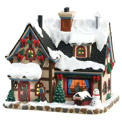 Lemax Village Cozy Christmas Eve #85351 Lighted Building Home Decor Ornament