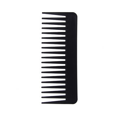 Durable 19 teeth wide tooth comb detangling hairbrush scalp massage c~GN