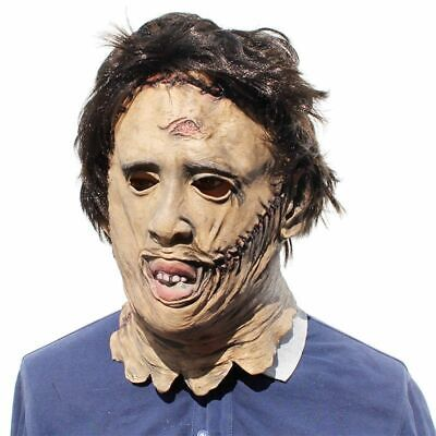 Halloween Texas Chainsaw Massacre Leatherface Masks Scary Horror Mask Cosplay US