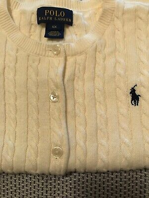Polo Ralph Lauren - Beautiful Girls Cream Cardigan