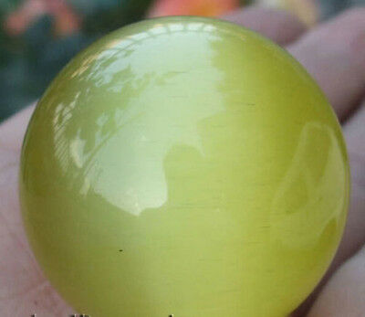 40mm Yellow Mexican Opal Sphere,Crystal Ball/Gemstone
