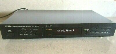 Denon Tu-425Rd Am Fm Stereo Tuner With Rds Made In Germany Very Good Condition