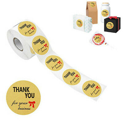 500pcs/roll Round Thank you for your business Stickers seal labels sticke~GN