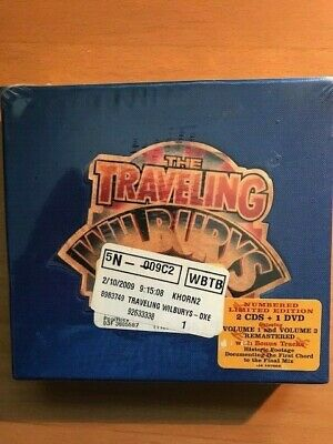 The Traveling Wilburys Collection- Volume 1, 2 & 3 - CD/DVD limited edition NEW