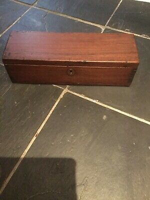 Antique Teak Sailors Box