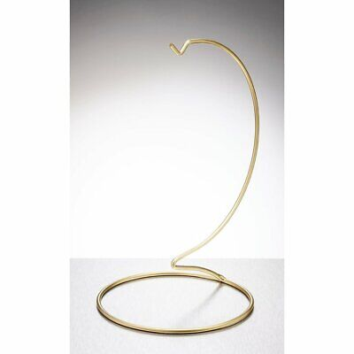 Sienna Glass  Large Stand Gold Spirit Friendship Ball Hanging Stand Gift