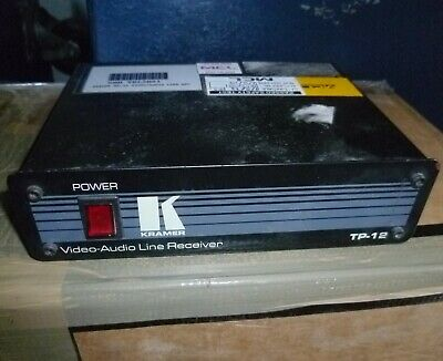 Kramer TP-12 Video-Audio twisted pair line Reciever used