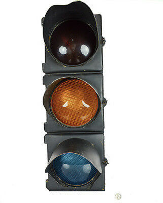 Vintage Crouse-Hinds M Series Traffic Signal Light: Cast Aluminum (Made in USA)