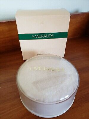 Vintage Emeraude Dusting Powder 4 oz   ☆ New in Box!