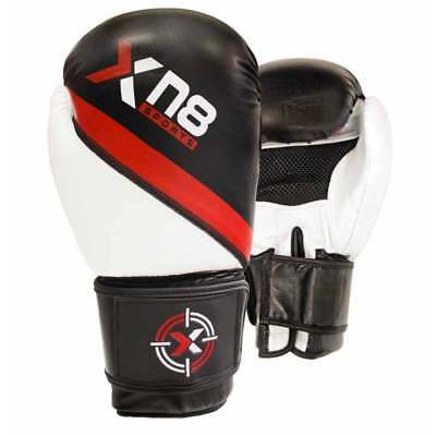 XN8 Boxing MMA Gloves Punch Bag  Mitts Grappling Workout Muay Thai Training