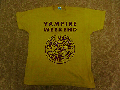 Limited!! New Vampire Weekend Sweet Martha's x t-shirt US size