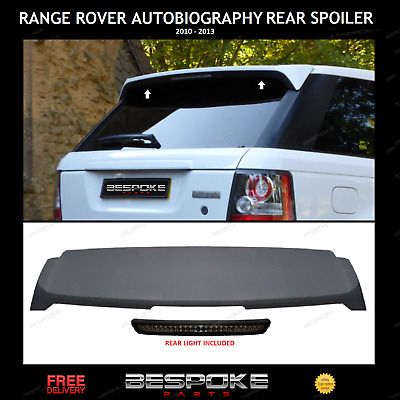 Autobiography Style Rear Boot/Roof Spoiler For Range Rover Sport L320 2010-2013
