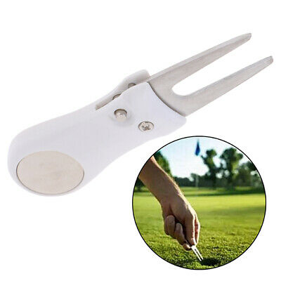 1PC Foldable Golf Divot Tool with Golf Ball Pitch Groove Cleaner Golf Put Fo~GN