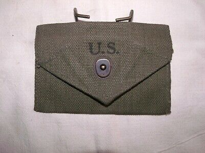 WW2 First Aid Pouch, Marked Dubuque, 1943