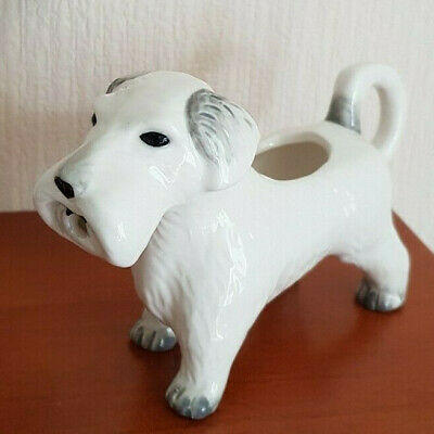"Cath Kidston ""Billie"" The Dog Creamer / Milk Jug Dog Shaped - Boxed"